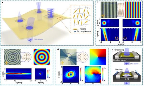 南京大学开发出多功能平面太赫兹光子元件,应对太赫兹通信挑战
