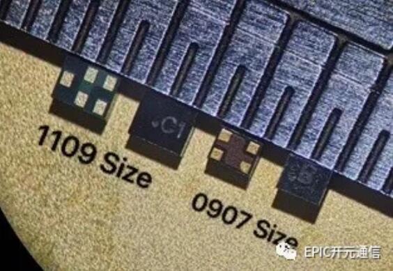 开元通信滤波器尺寸图