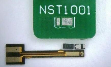 NST1001芯片实物及PCB子板