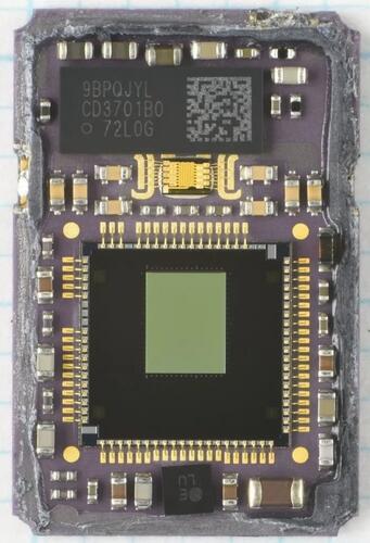 应用于iPad Pro激光雷达扫描仪的ToF图像传感器