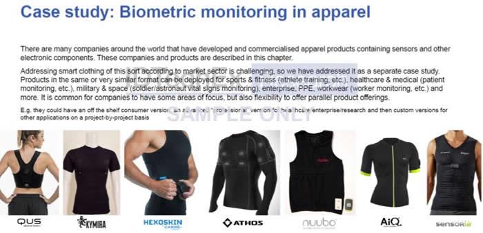 电子织物生物识别监控应用案例分析