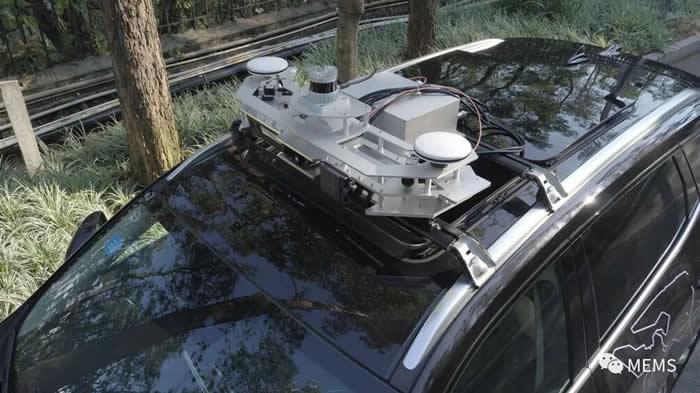 搭载Ouster数字激光雷达的惠尔智能自动驾驶解决方案