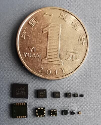 美新半导体的磁传感器历代产品