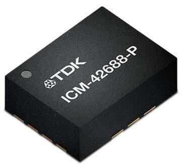 TDK推出高性能6轴IMU:ICM-42688-P,适用于机器人、可穿戴及物联网