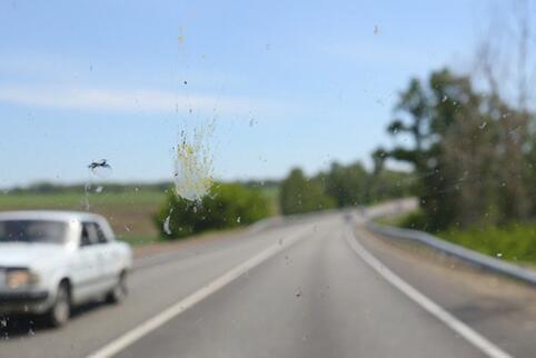 道路行驶中激光雷达(LiDAR)很容易被污染物遮蔽