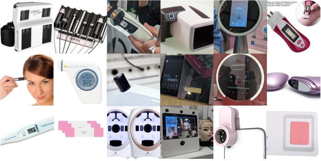 多种多样的皮肤分析设备/仪器