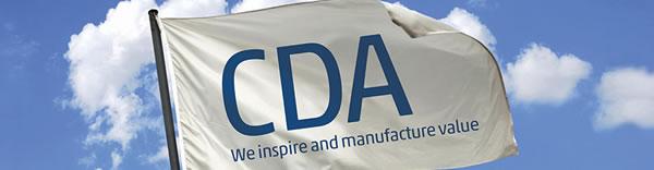 CDA旗帜上彰显企业文化