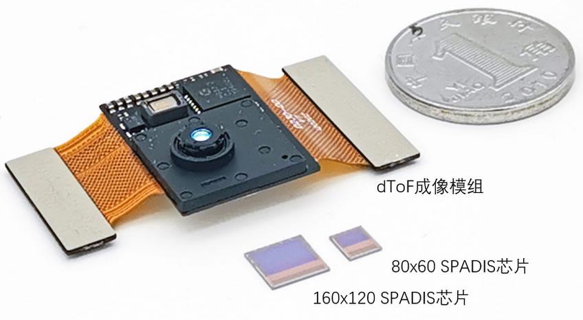 灵眀光子SPADIS芯片及dToF模组