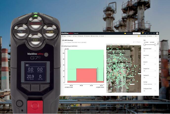 Blackline与NevadaNano合作,将其MPS可燃气体传感器作为Blackline G7云连接安全可穿戴设备组合的一部分