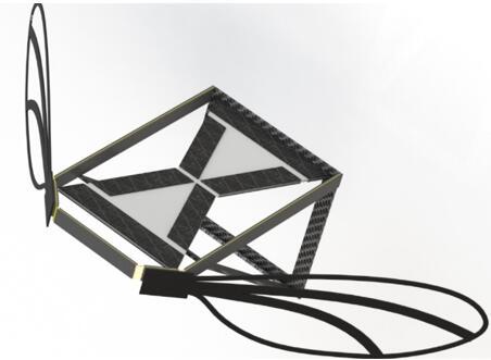 图为微型飞行器的概念设计,由MEMS技术与3D打印相结合制造而成
