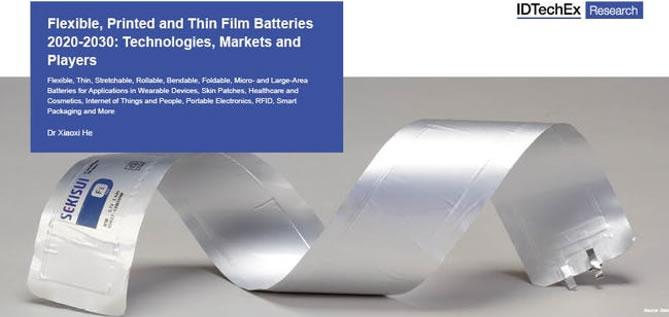 《柔性、印刷及薄膜电池技术和市场趋势-2020版》