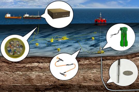 Odassea提供海底井的上层分布式声波传感器