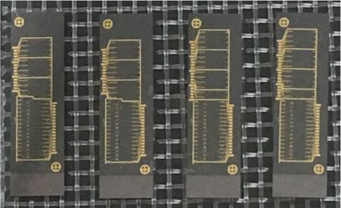 国科光芯2020年4月发布的相控阵激光雷达芯片样品图片