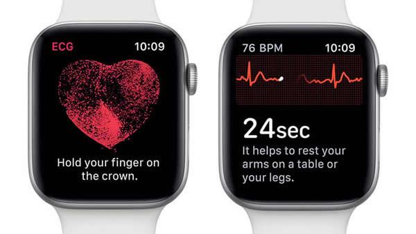 Apple Watch心电图功能