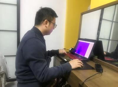聚芯微电子-封闭期间员工远程办公