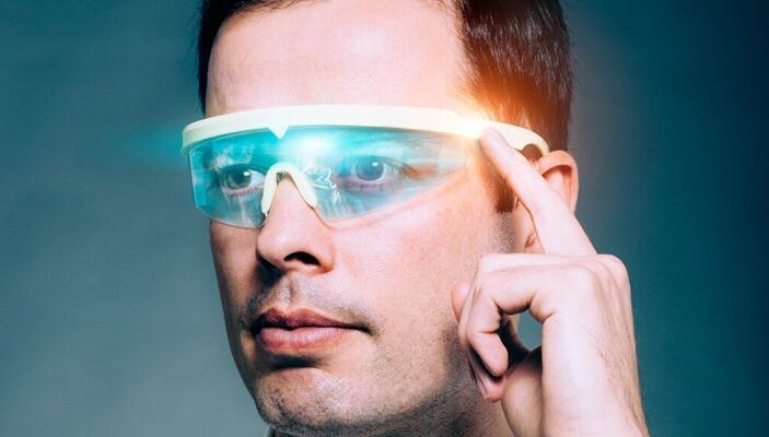 未来的AR智能眼镜