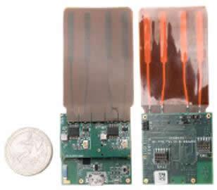 Blumio开发的sub-GHz原型,并开发了智能手机应用程序