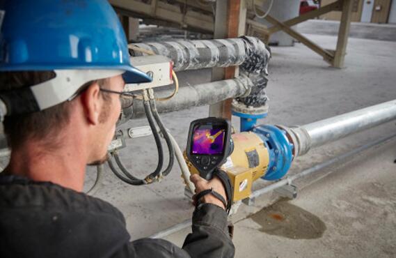 将具备机载路线规划功能的FLIR E96热像仪与FLIR Thermal Studio专业版软件相结合,可用于识别工厂车间的机械问题。