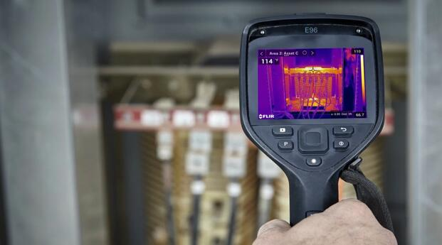 电气或电力检测建议使用E96机型热像仪