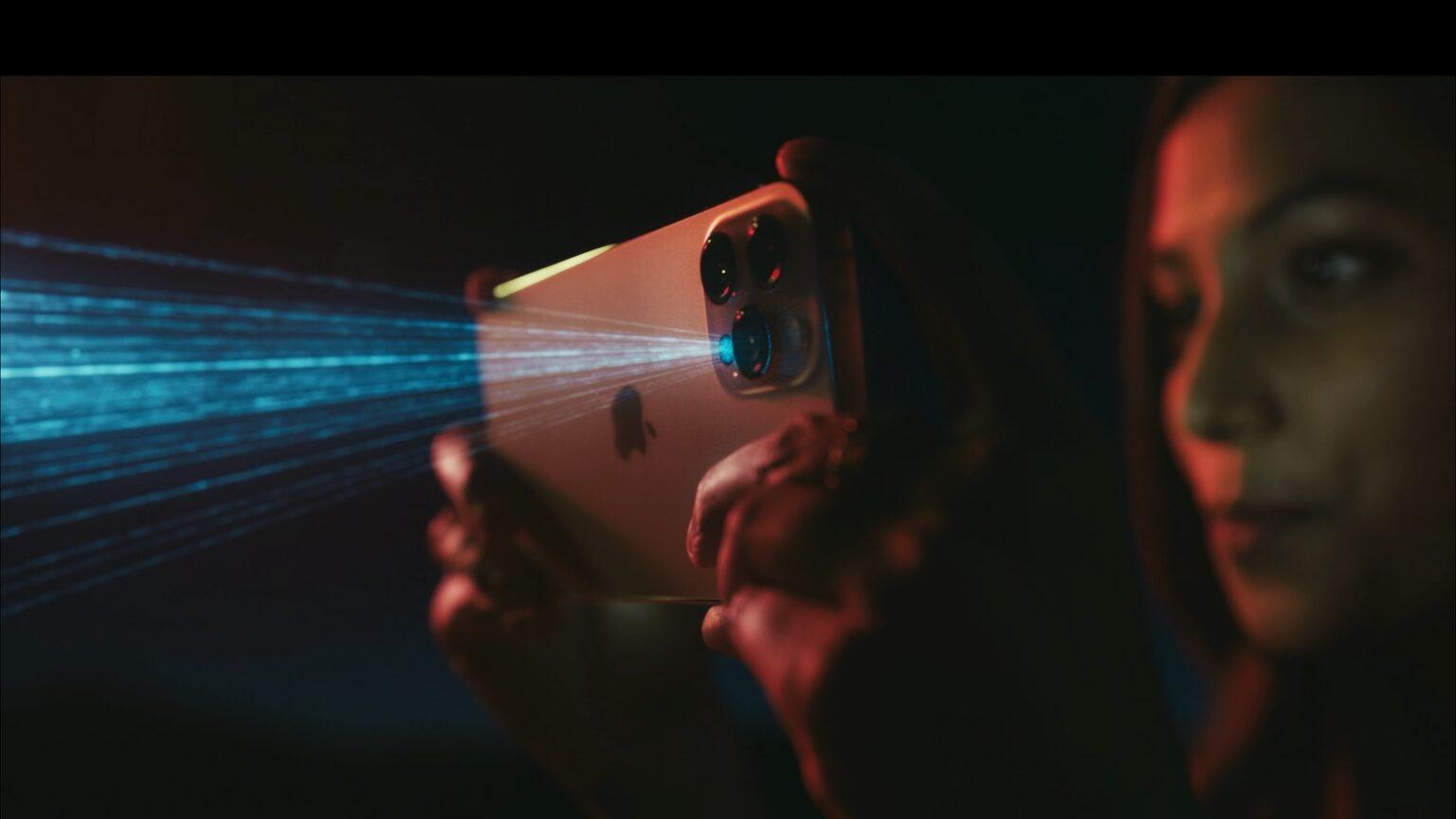 苹果iPhone 12 Pro中的激光雷达扫描仪