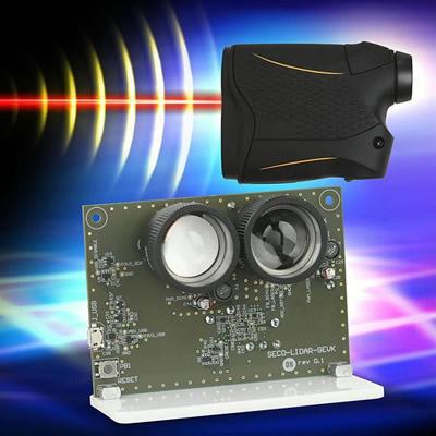 """面向工业测距,安森美半导体发布""""开箱即用""""单点dToF激光雷达平台"""