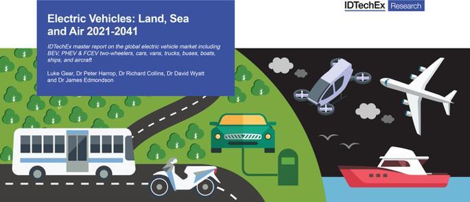 《电动交通工具(水、陆、空)技术及市场-2021版》