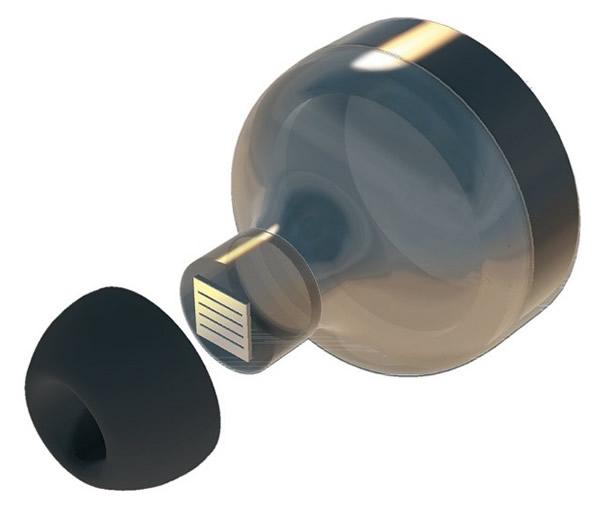 有商业吸引力的静电MEMS微型扬声器芯片的尺寸应该足够小,并且能够在耳道内产生120 dB的声压级