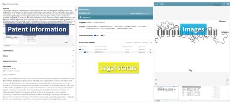 RNA疫苗在线更新的专利数据库