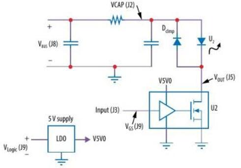 图5:EPC9154开发板电路图(来源:宜普电源)
