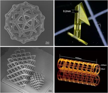 超高精度3D打印应用于新兴MEMS和微流控领域
