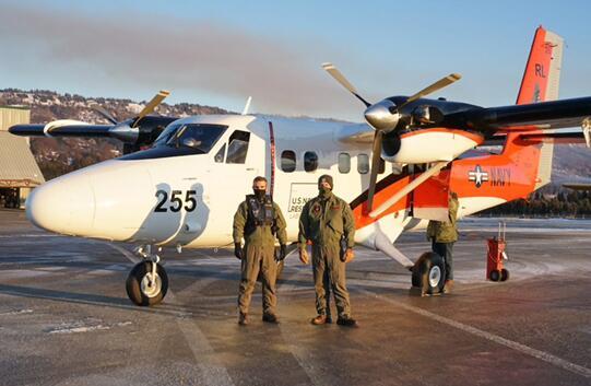 美国海军研究实验室科学发展中队的UV-18双水獭飞机