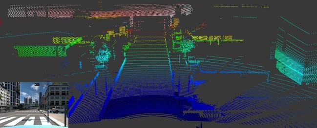 利用Ansys VRXPERIENCE软件实现基于高精度物理模型的激光雷达(LiDAR)仿真