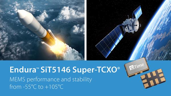 SiTime新款MEMS振荡器在-55℃低温环境下具有极佳性能