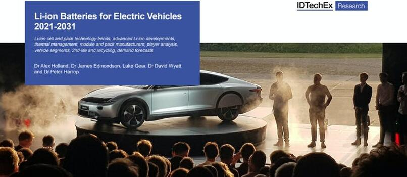 《电动交通工具应用的锂离子电池技术及市场趋势-2021版》