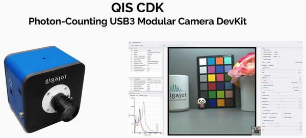 Gigajot量子图像传感器(QIS)相机开发工具套件(CDK)