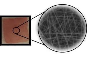 一种可植入式压电聚合物纳米纤维,可在机械力作用下控制药物的释放量