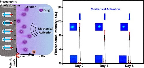 基于压电聚合物的给药系统,可以提供更精确更稳定的药物缓释