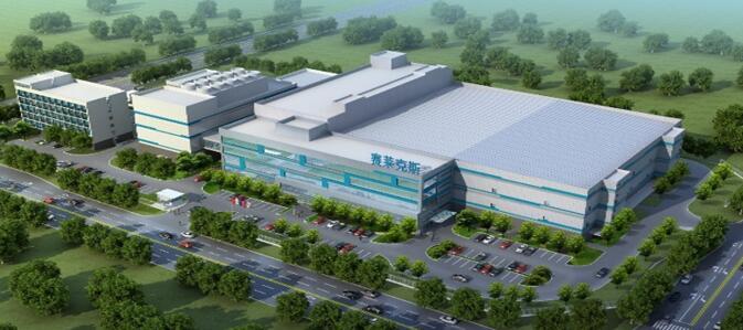 赛微电子北京8英寸MEMS国际代工线设计效果图