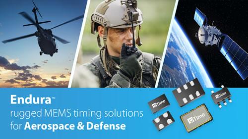 SiTime的MEMS振荡器应用于Raytheon精密制导系统