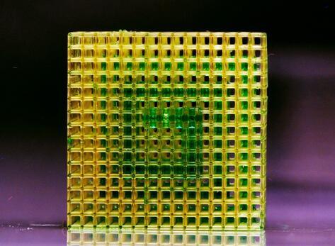 微流体在三维结构中的选择性流动
