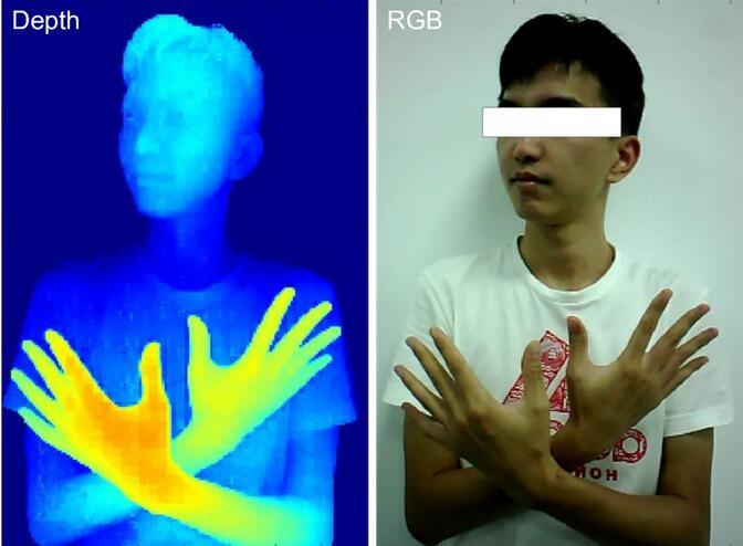 灵眀光子dToF单光子成像传感器ADS3003的人物成像