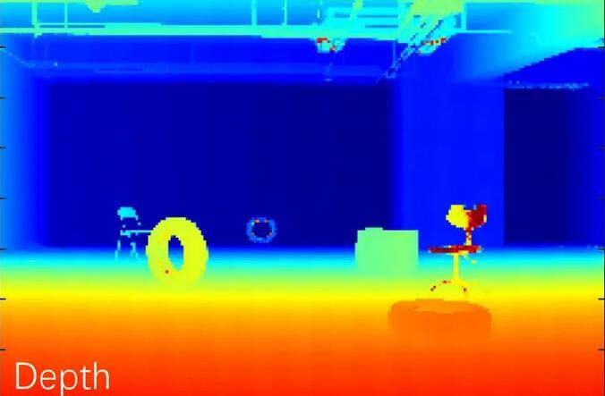 灵眀光子dToF单光子成像传感器ADS3003的室内场景远距离成像