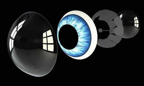 Mojo Vision发布AR隐形眼镜原型,充满科幻概念!