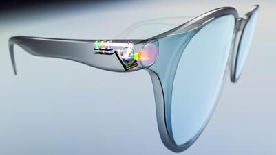 基于单芯片MEMS微镜扫描解决方案赋能AR/VR智能眼镜
