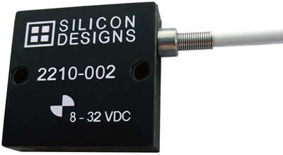 Silicon Designs单轴Model 2210系列加速度计上市,适用于工业振动测试