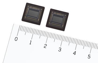 索尼新款堆叠式基于事件的视觉传感器(左:IMX636,右:IMX637)