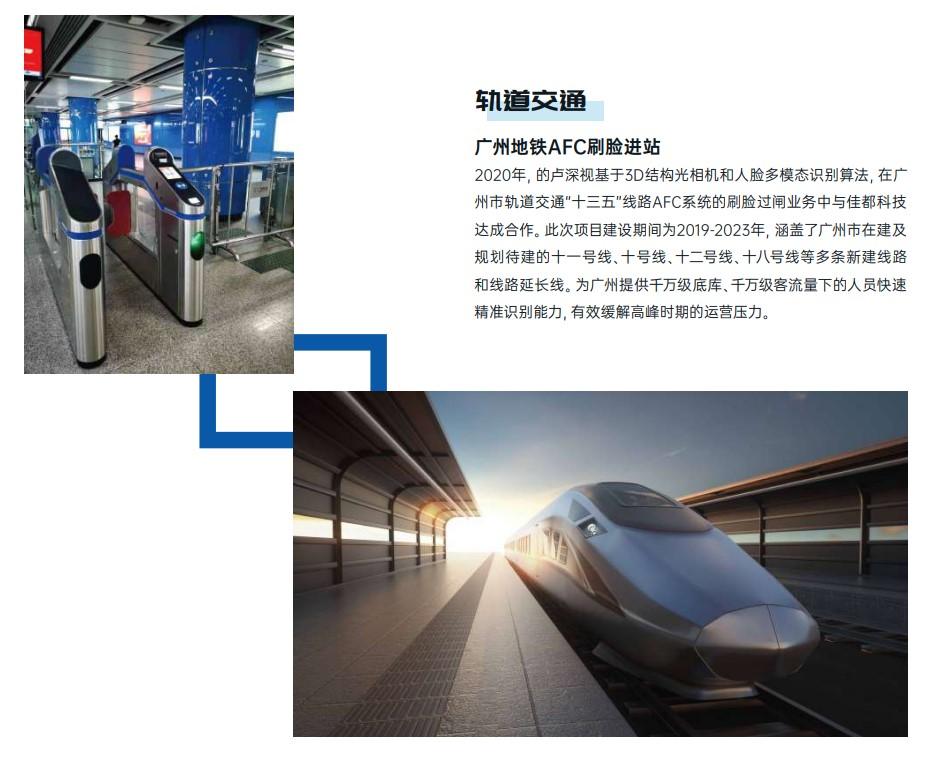 的卢深视:从智能门锁、金融支付到轨道交通,3D视觉方案实现全面商业化落地