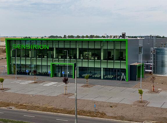 盛思锐位于匈牙利的新传感器生产基地顺利开业