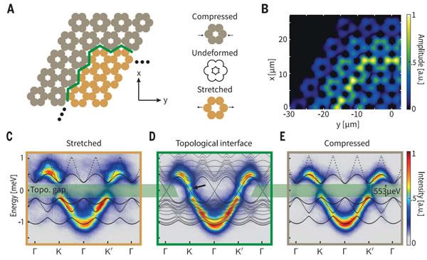 垂直腔激光器阵列的拓扑结构和光子特性